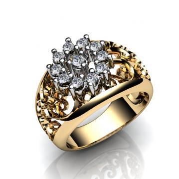 Женское кольцо 796-1