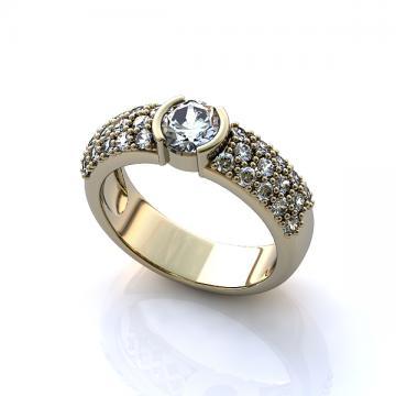 Женское кольцо 225