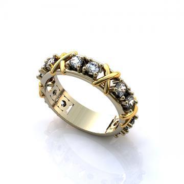 Женское кольцо 253