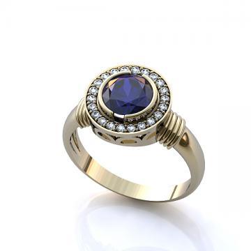 Женское кольцо 33