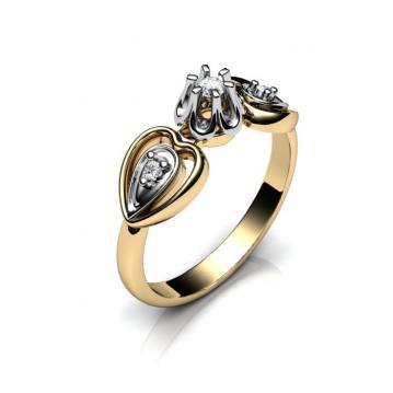 Женское кольцо 745