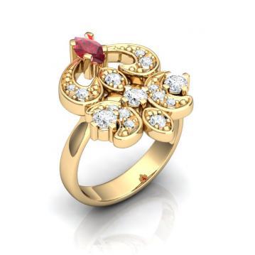 Женское кольцо 508
