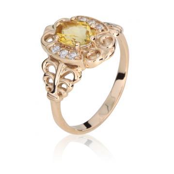 Женское кольцо 59