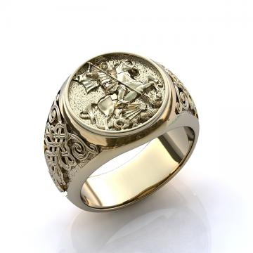 Мужское кольцо 502