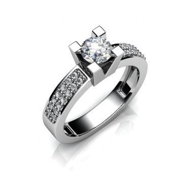 Женское кольцо 808