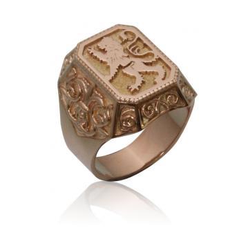 Мужское кольцо 1164
