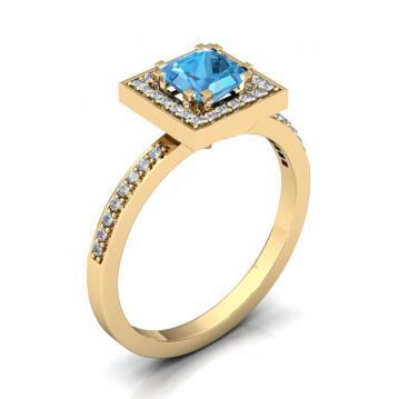 Женское кольцо 1192
