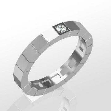 Обручальное кольцо A31204-1