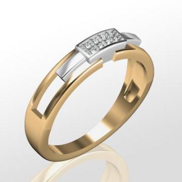 Обручальное кольцо M30602-1